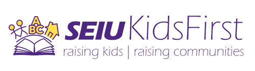 SEIU Kids First Logo