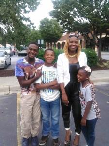 Venetta and family